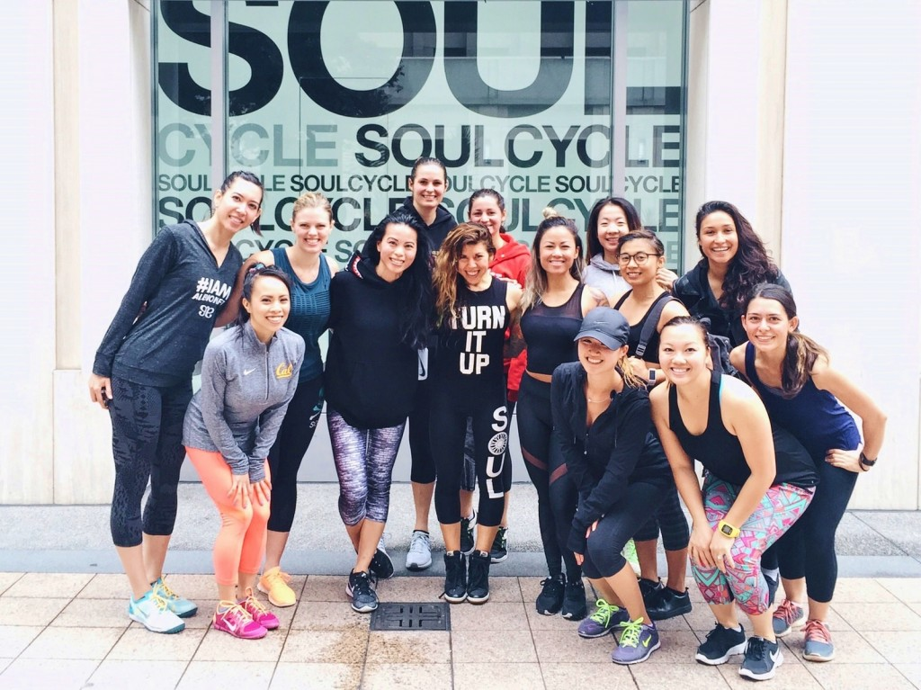 Sunday Soul Cycle - BBG Bay Area with Molli - Berniedette of Petite And Toned