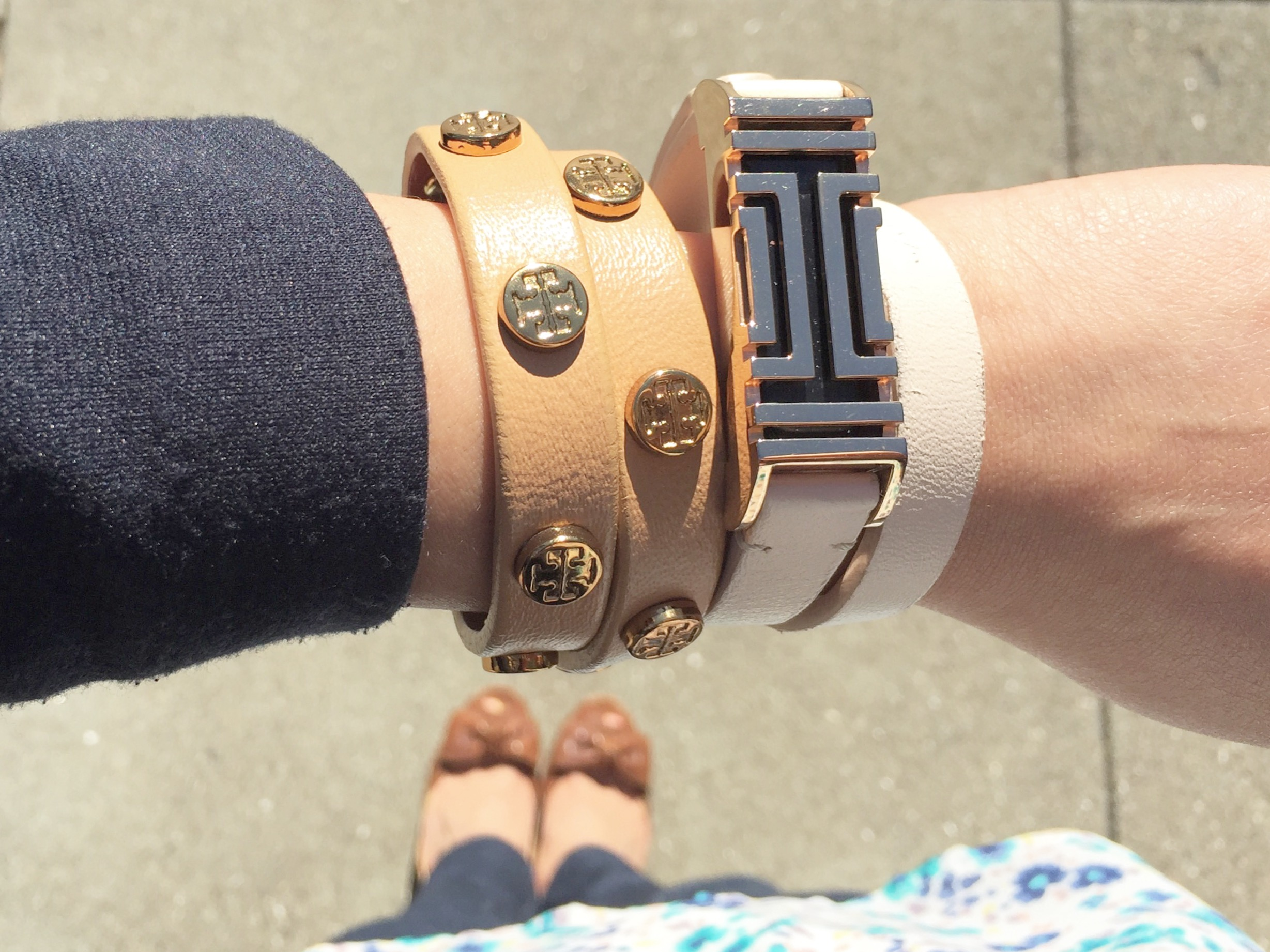 Tory Burch for Fitbit - Berniedette of Petite And Toned